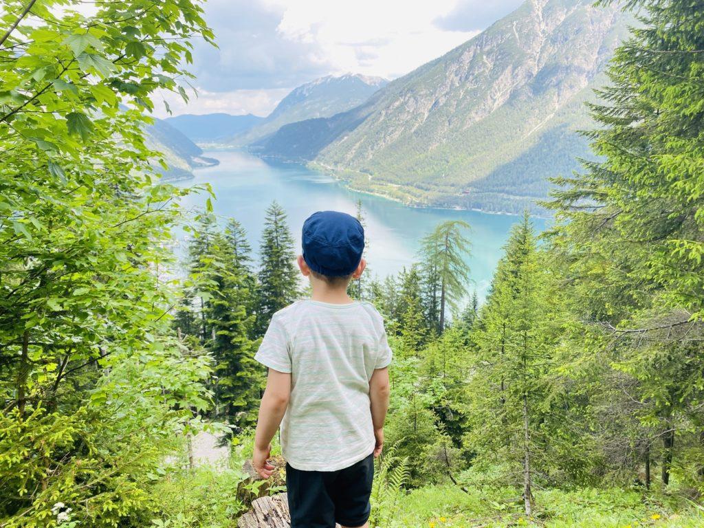 Wandern Achensee 2 1024x768 - Ausflugstipp Achensee: Alpentiere Rundwanderweg ab Bergstation Karwendelbergbahn