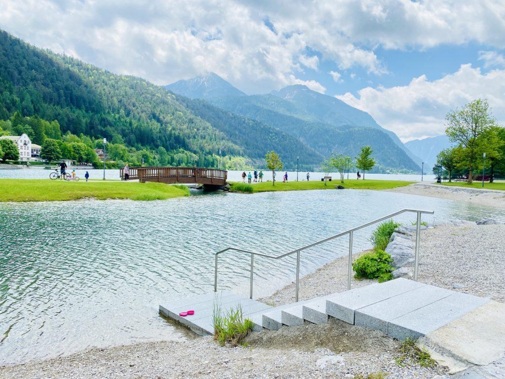 Wasserspielplatz Achenkirch Achensee 10 1024x768 - Wasserspielplatz in Achenkirch am Achensee