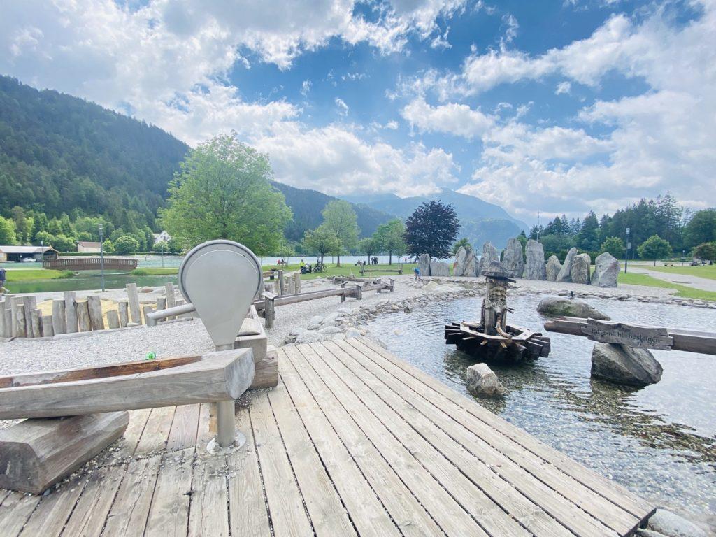 Wasserspielplatz Achenkirch Achensee 3 1024x768 - Wasserspielplatz in Achenkirch am Achensee