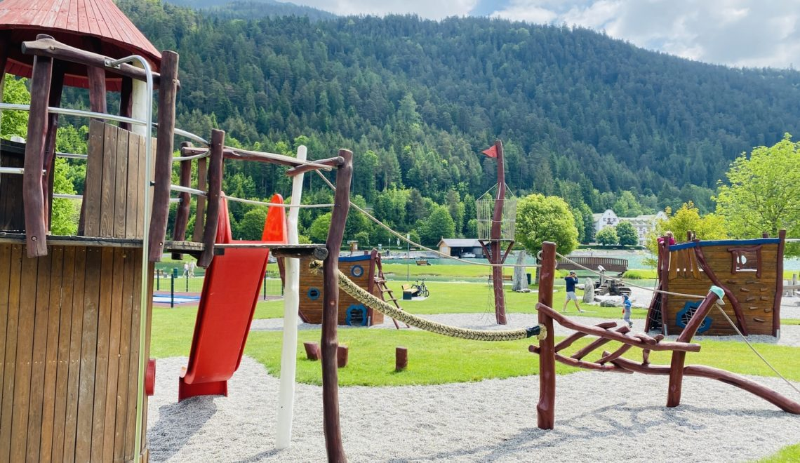 Wasserspielplatz in Achenkirch am Achensee