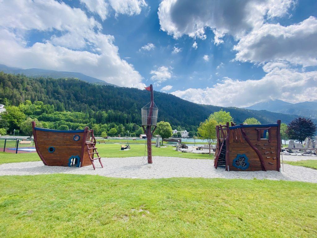 Wasserspielplatz Achenkirch Achensee 6 1024x768 - Wasserspielplatz in Achenkirch am Achensee