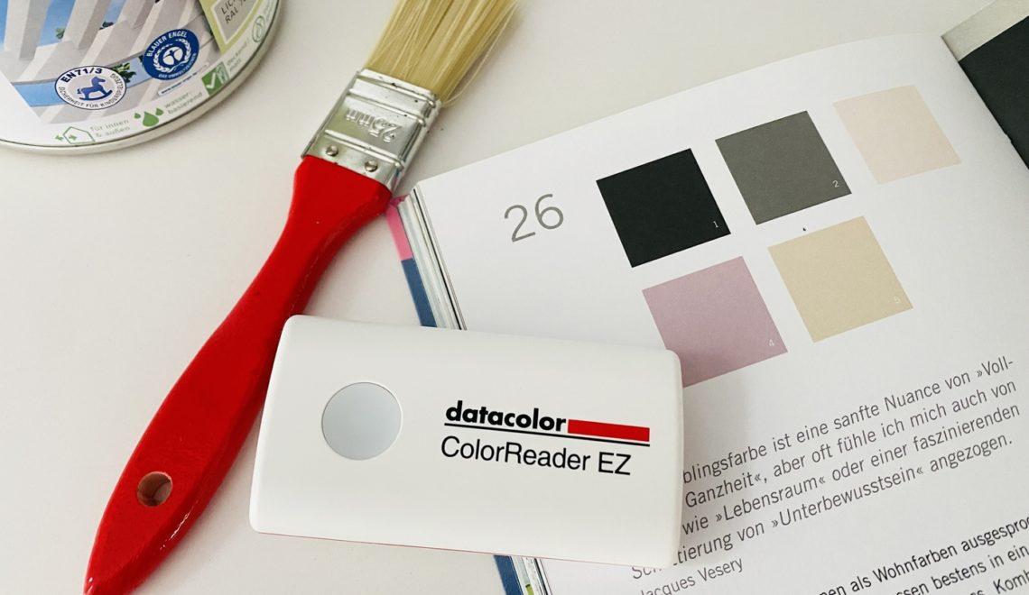 Farbgestaltung in der Wohnung – Ideen & Tipps mit dem Datacolor ColorReader EZ