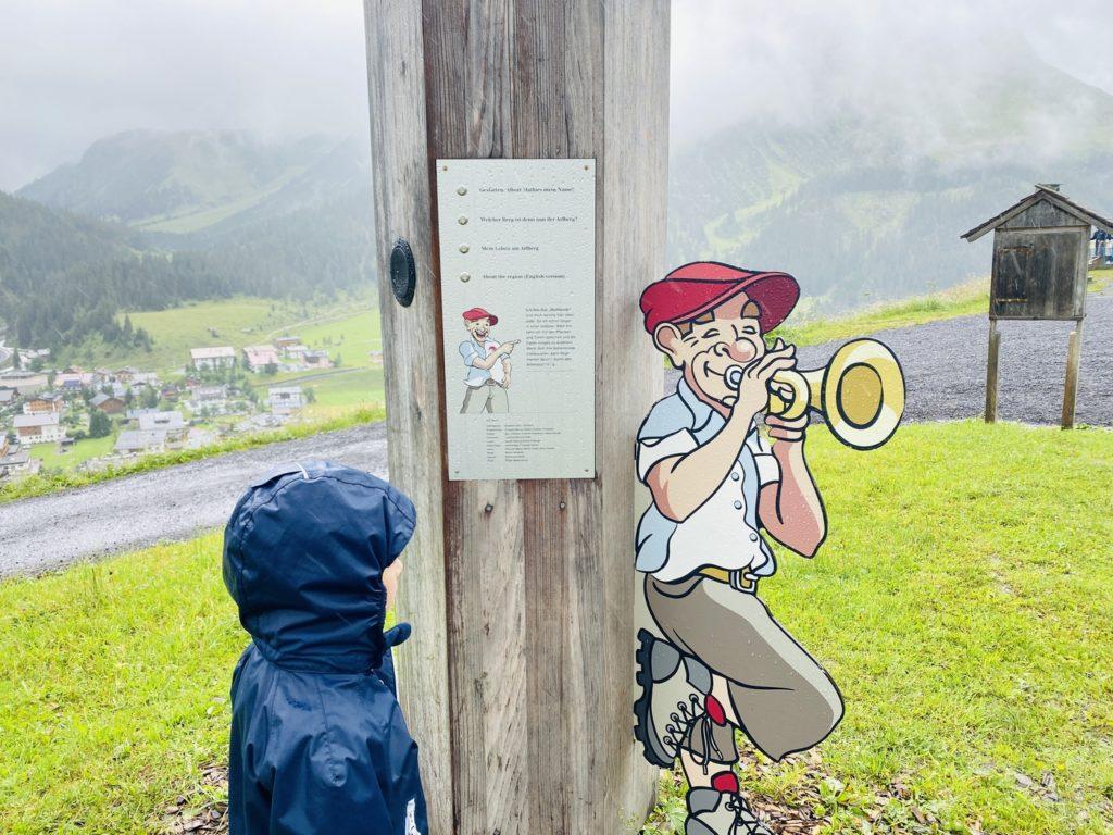 Arlenzauberweg Lech Zuers 11 1024x768 - Ausflugstipps Familien Lech Zürs am Arlberg