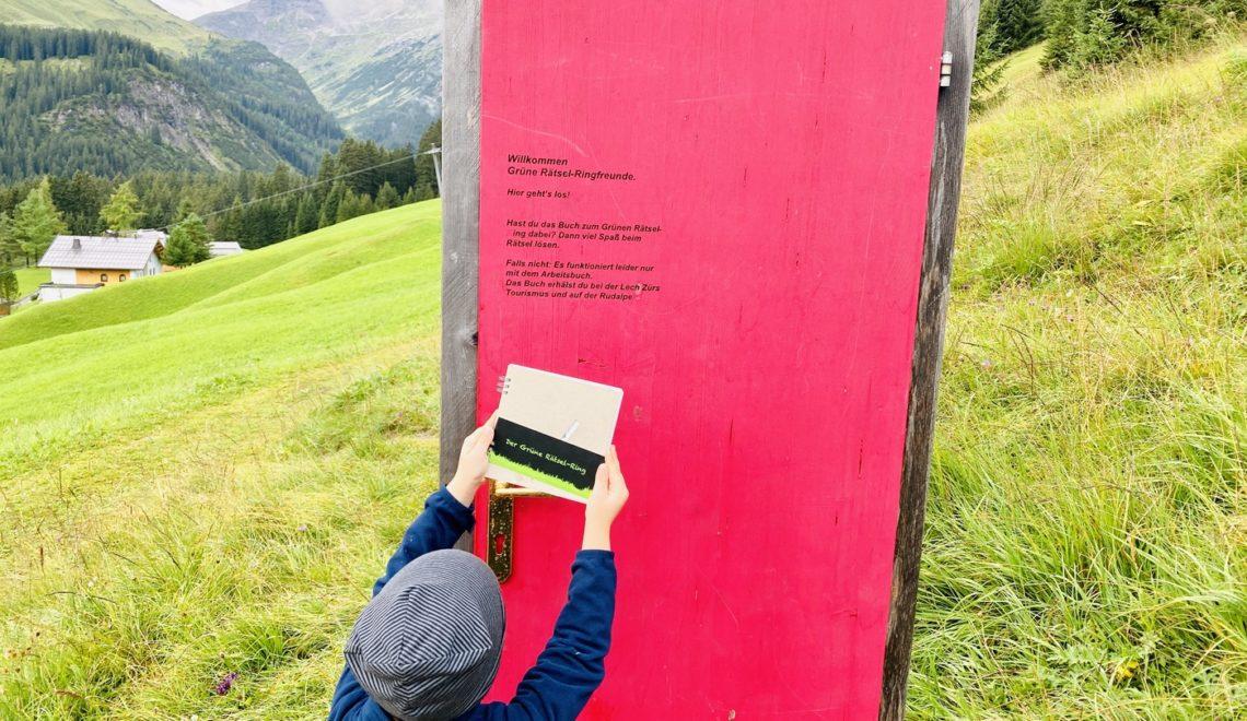 Familienwanderung in Lech Zürs am Arlberg: Der Grüne Rätsel-Ring