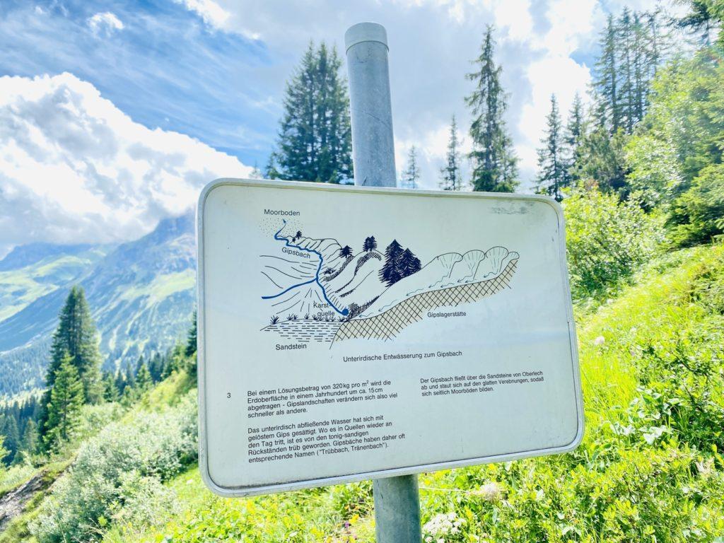 Gipsloecherpfad 1024x768 - Ausflugstipps Familien Lech Zürs am Arlberg