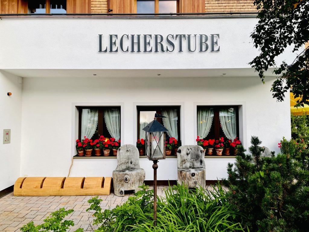 Lecher Stube Lech am Arlberg 16 1024x768 - Exzellentes Essen in der Lecher Stube in Lech