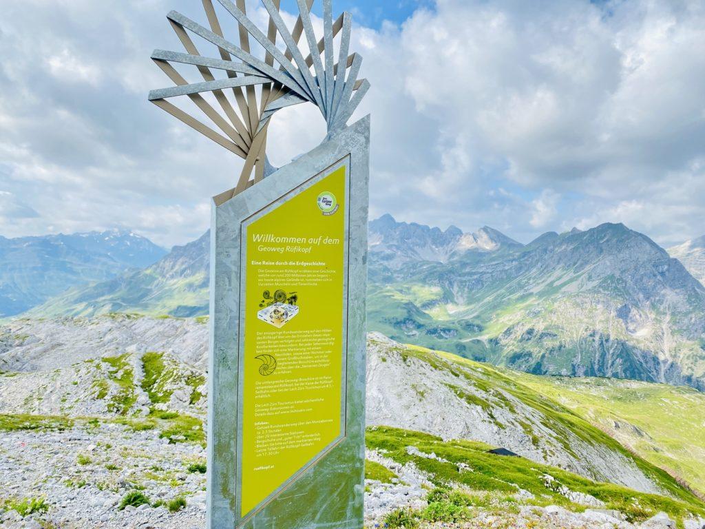 Ruefikopf Lech Zuers am Arlberg 3 1024x768 - Ausflugstipps Lech am Arlberg im Sommer