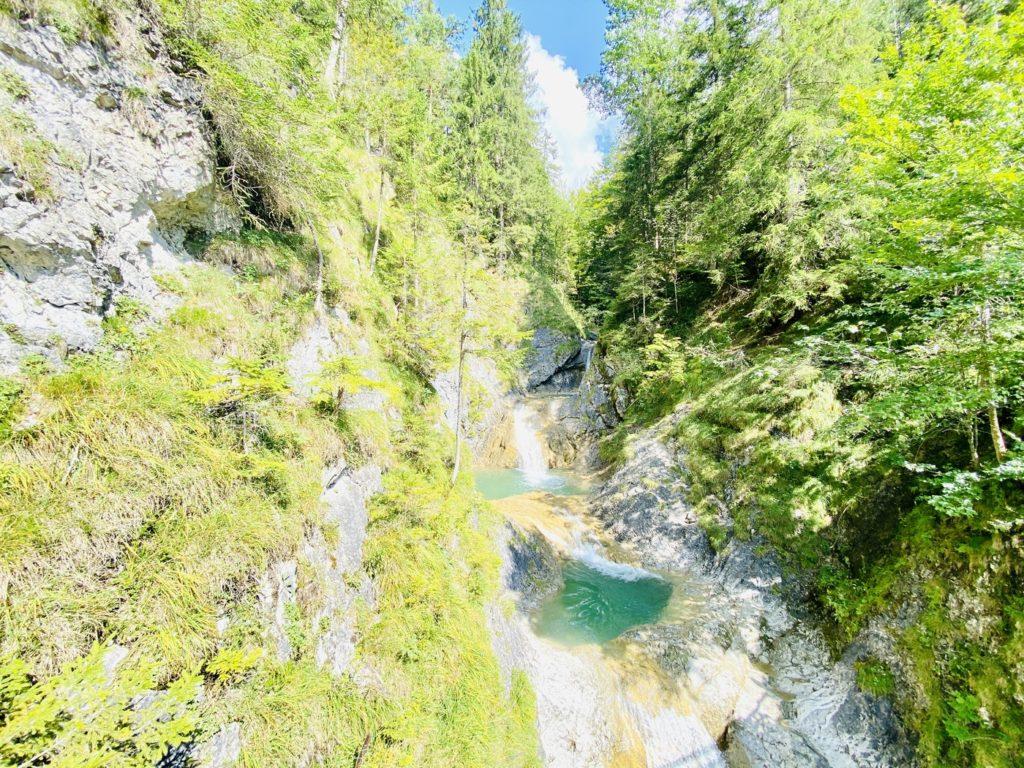 Wasserfall Bayrischzell 2 1024x768 - Wasserfall und Grüne Gumpe in Bayrischzell