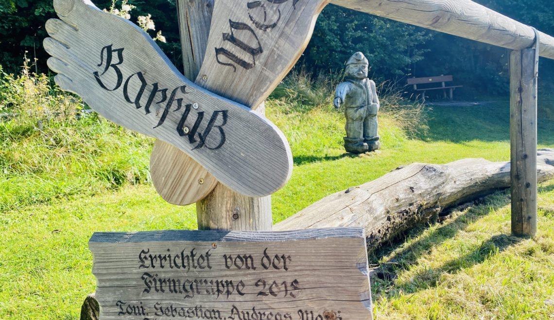 Wendelstein-Männlein-Weg in Bayrischzell – Familienwanderung